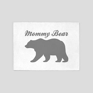 Mommy Bear 5'x7'Area Rug