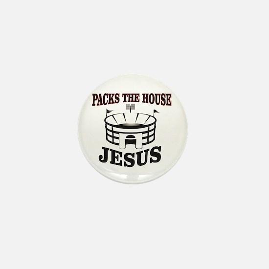 JC packs the house Mini Button