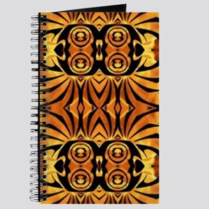 flames safari tribal pattern Journal