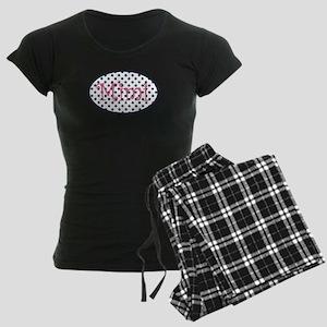 Mimi Navy and Pink Pretty Po Women's Dark Pajamas