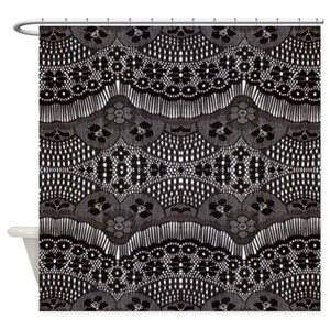 Lacy Shower Curtains