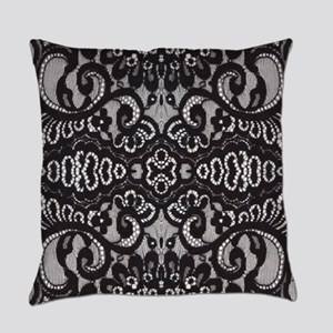 modern girly vintage lace Everyday Pillow