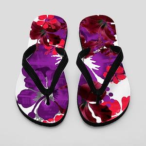Hibiscus Flip Flops
