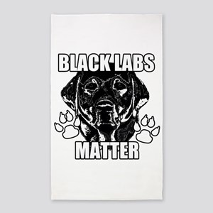 BLACK LABS MATTER 2 Area Rug