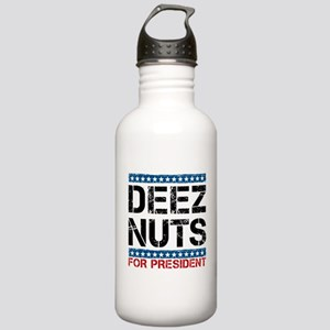 Deez Nuts For President Water Bottle