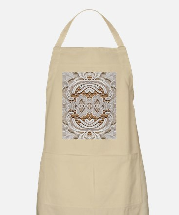 girly hipster vintage white lace  Apron