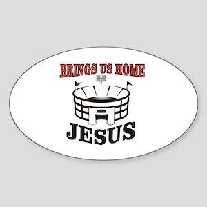 bring us home Jesus Sticker