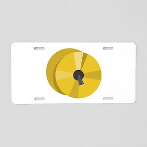 Cymbals Aluminum License Plate