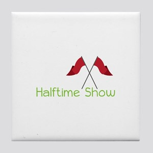 Halftime Show Tile Coaster