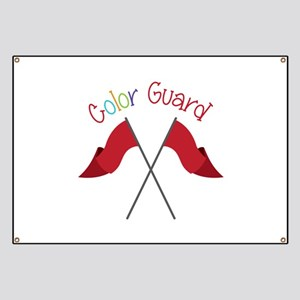 Color Guard Banner