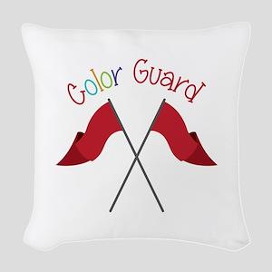 Color Guard Woven Throw Pillow