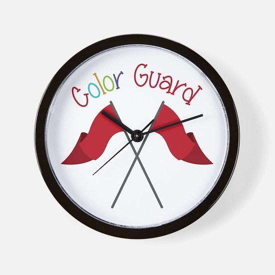 Color Guard Wall Clock