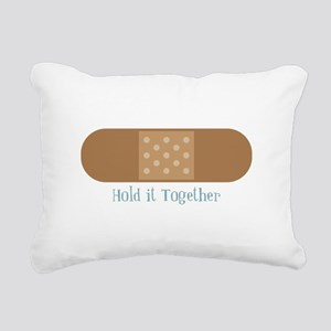 Hold It Together Rectangular Canvas Pillow