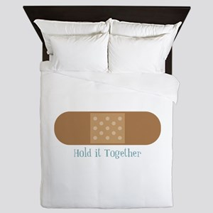 Hold It Together Queen Duvet