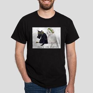 Scottish Terrier Westie Christmas T-Shirt