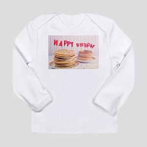Birthday pancakes Long Sleeve T-Shirt
