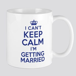 Can't Keep Calm Married Mugs