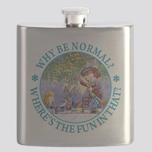 Why be Normal? Where's The Fun In That? Flask