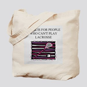 lacrosse gifts t-shirts Tote Bag