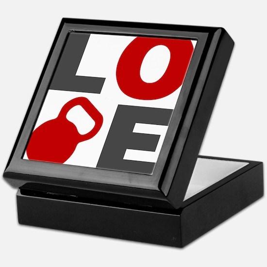 Love Kettlebell Keepsake Box