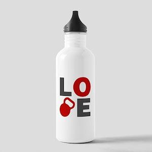 Love Kettlebell Stainless Water Bottle 1.0L