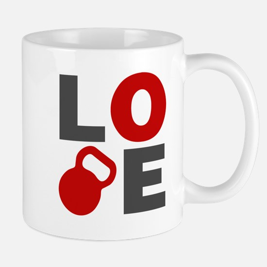 Love Kettlebell Mug