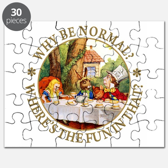 Why be Normal? Where's The Fun In That? Puzzle