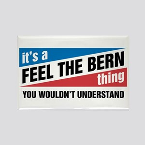 Feel The Bern Thing Magnets