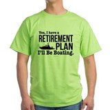 Boat Green T-Shirt