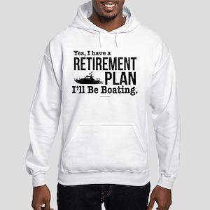 Boating Retirement Hooded Sweatshirt