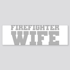 Firefighter Wife Sticker (Bumper)