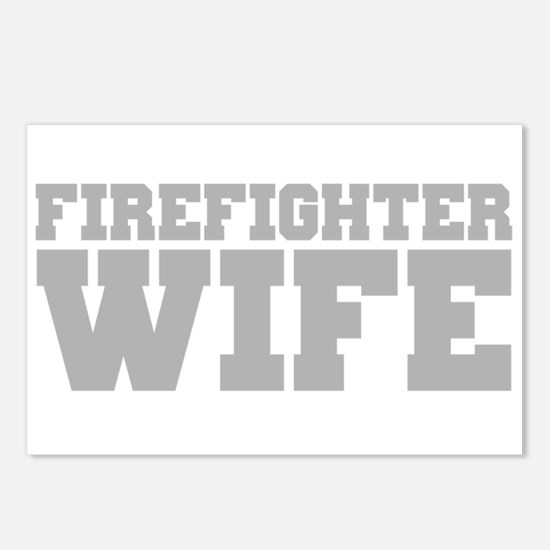 Firefighter Wife Postcards (Package of 8)