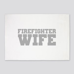 Firefighter Wife 5'x7'Area Rug