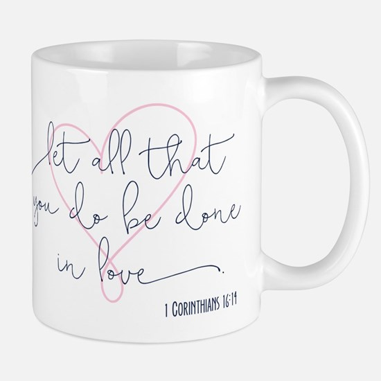 Done in Love Mugs