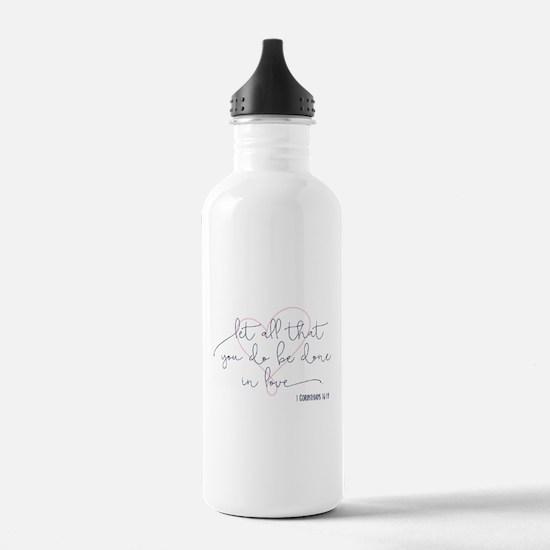 Done in Love Sports Water Bottle