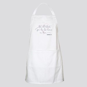 Done in Love Apron