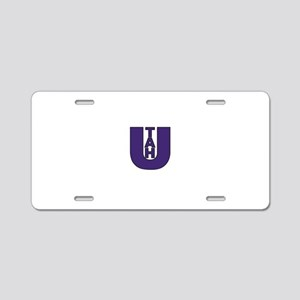 Blue Utah Aluminum License Plate