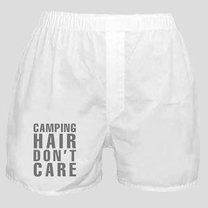 Camping Hair Don't Care Boxer Shorts