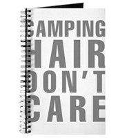 Camping Hair Don't Care Journal