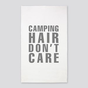 Camping Hair Don't Care Area Rug