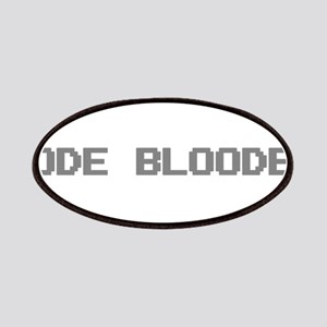 Code Blooded Patch