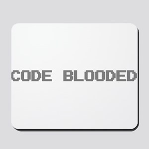 Code Blooded Mousepad