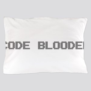 Code Blooded Pillow Case
