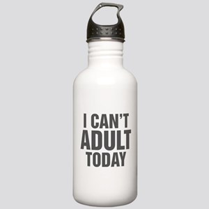 I Can't Adult Today Stainless Water Bottle 1.0L