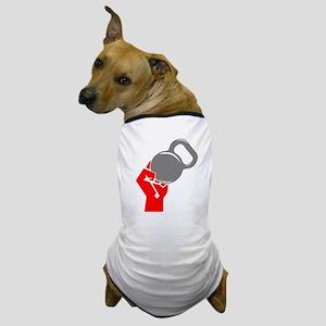 Kettlebell Fist Dog T-Shirt