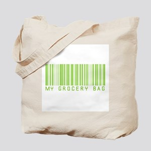 My Grocery Bag barcode Tote Bag