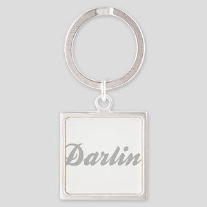 Darlin' Square Keychain