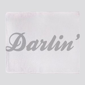 Darlin' Throw Blanket