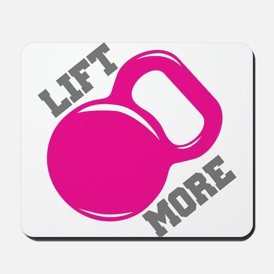 Lift More Kettlebell Mousepad