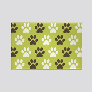 Paw Print Pattern Magnets